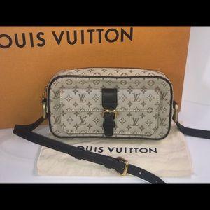 Authentic Louis Vuitton mini Lin olive Juliette